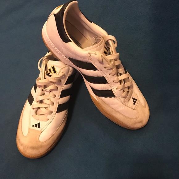 4fab6cb2c adidas Shoes | White Samba Mens Size 115 | Poshmark